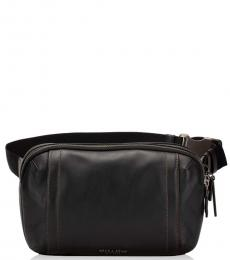 Black Graham Waist Bag