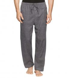 Ralph Lauren Charcoal Check Flannel Pajama Pants