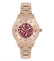Rose Gold Leaping Into the Middle Watch