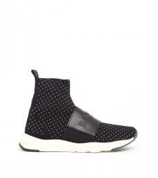 Black Cameron Sneakers