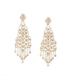 BCBGMaxazria Caramel Chandelier Earrings
