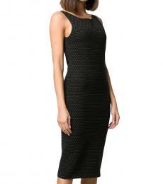 Black Polka Dot Shift Dress