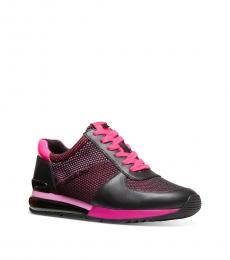 Michael Kors Fuchsia Allie Sneakers