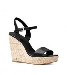 Michael Kors Black Jill Wedges