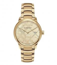 Burberry Gold Classic Bracelet Watch