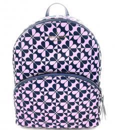 Kate Spade Petro Blue Karissa Large Backpack