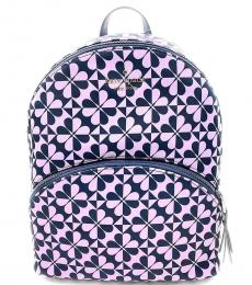 Kate Spade Petro Blue Karissa Large Backpack