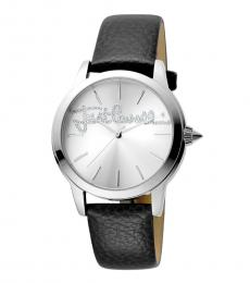 Just Cavalli Black-Silver Dial Watch