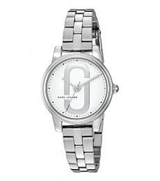 Marc Jacobs Silver Corie Watch
