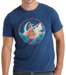Lucky Brand Dark Blue Miller Moon T-Shirt