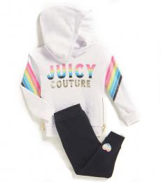Juicy Couture 2 Piece Hoodie/Joggers Set (Baby Girls)