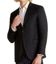 Black Xylo Wool Blazer