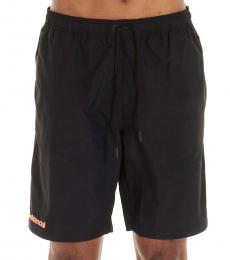 Marcelo Burlon Black Confidential Swim Shorts