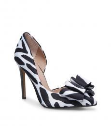 Zebra d'Orsay Evening Heels