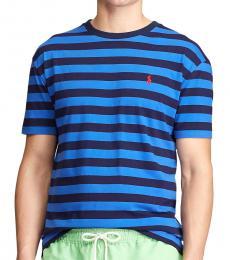 Ralph Lauren White Classic Striped T-Shirt