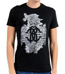 Black Graphic Crewneck T-Shirt