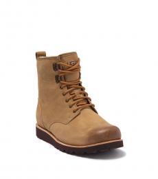 UGG Tan Hannen Boots