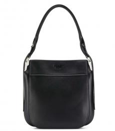 Prada Black Margit Medium Hobo