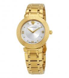 Versace Gold Daphnis Logo Watch