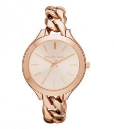 Michael Kors Rose Gold Runway Watch