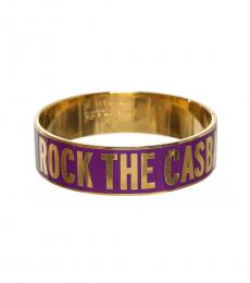 Kate Spade Purple Gold Bracelet