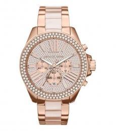 Michael Kors Rose Gold Wren Watch