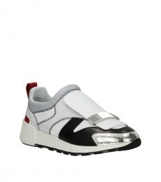 Multicolor Slip-On Sneakers