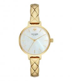 Gold Metro Skinny Watch