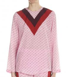 Stella McCartney Pink Color Block Top