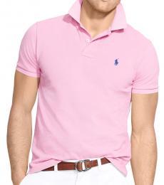 Ralph Lauren Pink Classic Fit Logo Polo