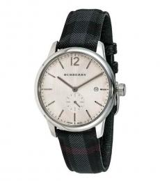 Burberry Dark Gray Classic Round Watch