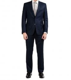 Versace Collection Navy Two Button Suit