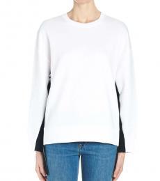 White Logo Bands Sweatshirt