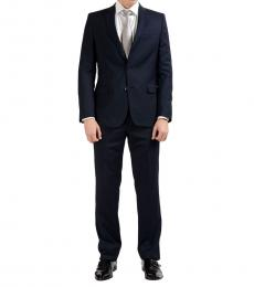 Versace Collection Navy Wool Suit