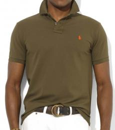 Ralph Lauren Olive Green Classic Fit Logo Polo