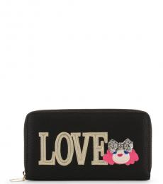 Love Moschino Black Love Doll Wallet