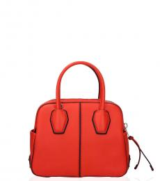 Tod's Orange Miky Mini Satchel