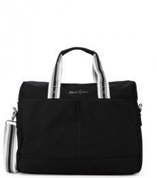 Robert Graham Black Convertible Large Briefcase Bag