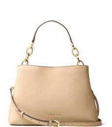 Bisque Sofia Large Shoulder Bag