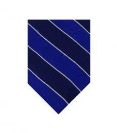 Ralph Lauren Blue Stripes Dapper Tie