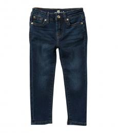 7 For All Mankind Little Girls Commotion Skinny Stretch Jeans