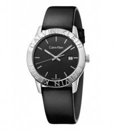 Calvin Klein Black Steady Luminous Watch
