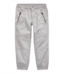 Ralph Lauren Little Boys Light Smoke Poplin Jogger Pants