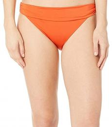 Orange Core Solids Soft Band Hipster