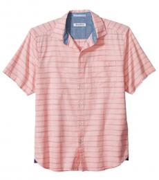 Pink Desert Breeze Striped Shirt