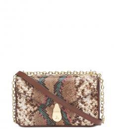 Calvin Klein New Wave Lock Medium Shoulder Bag