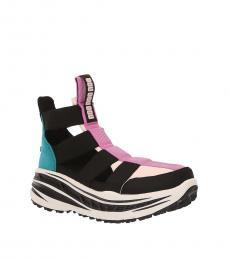 Black Gladiator Runner Sneakers