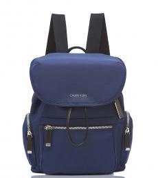 Calvin Klein Navy Kimberly Medium Backpack