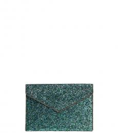 Rebecca Minkoff Mermaid Glitter Leo Clutch