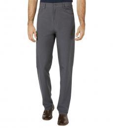 DKNY Grey Slim Fit Dress Pants